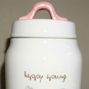 Rae Dunn Other - BRAND NEW Rae Dunn Happy Spring 🐰Easter Canister
